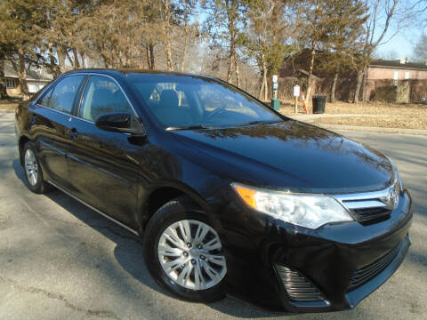 2012 Toyota Camry for sale at Sunshine Auto Sales in Kansas City MO