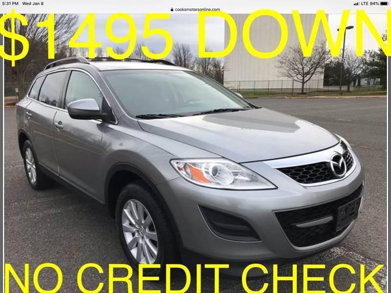 2010 Mazda CX-9 for sale at Cooks Motors in Westampton NJ