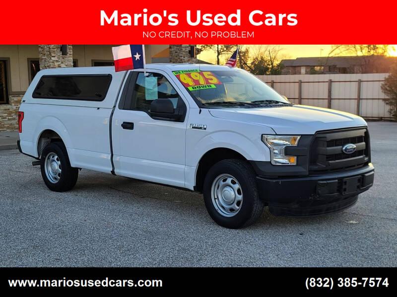 2016 Ford F-150 for sale at Mario's Used Cars - Pasadena Location in Pasadena TX