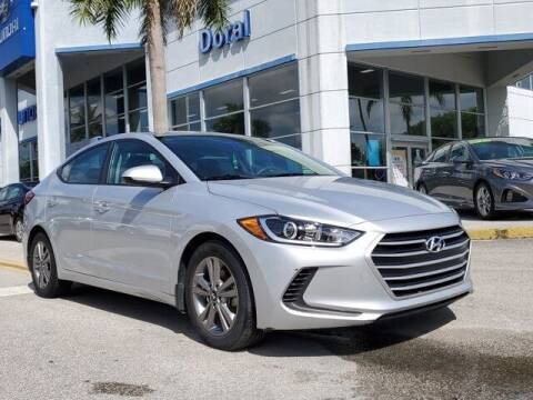 2018 Hyundai Elantra for sale at DORAL HYUNDAI in Doral FL