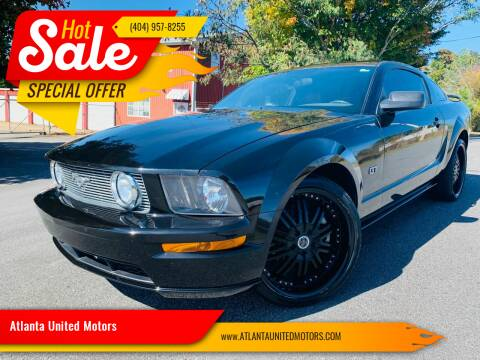 2006 Ford Mustang for sale at Atlanta United Motors in Buford GA