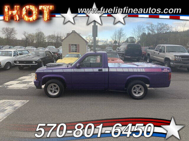 1992 Dodge Dakota for sale at FUELIN FINE AUTO SALES INC in Saylorsburg PA