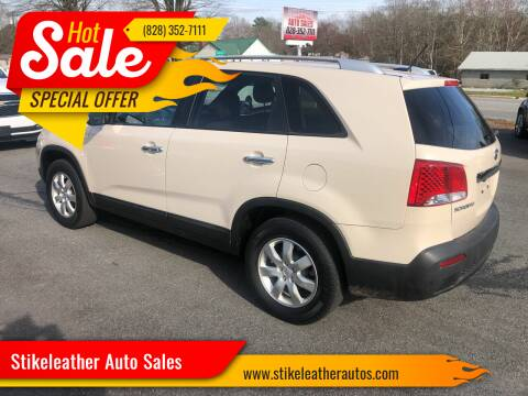 2011 Kia Sorento for sale at Stikeleather Auto Sales in Taylorsville NC