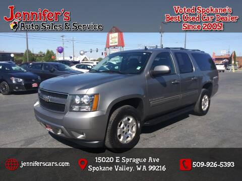 2009 Chevrolet Suburban for sale at Jennifer's Auto Sales in Spokane Valley WA