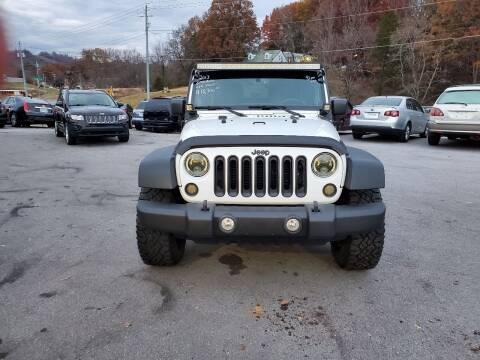 2013 Jeep Wrangler for sale at DISCOUNT AUTO SALES in Johnson City TN