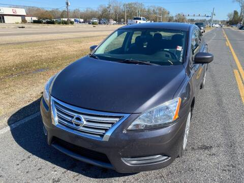 2014 Nissan Sentra for sale at Double K Auto Sales in Baton Rouge LA