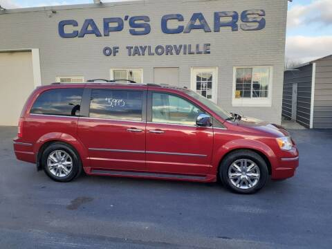 2008 Chrysler Town and Country for sale at Caps Cars Of Taylorville in Taylorville IL