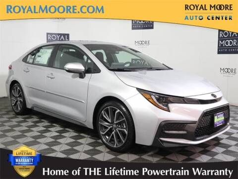 2021 Toyota Corolla for sale at Royal Moore Custom Finance in Hillsboro OR