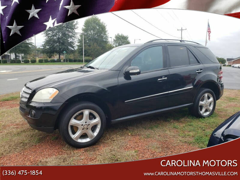 2008 Mercedes-Benz M-Class for sale at CAROLINA MOTORS in Thomasville NC