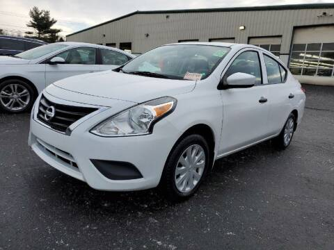 2016 Nissan Versa for sale at Amicars in Easton PA