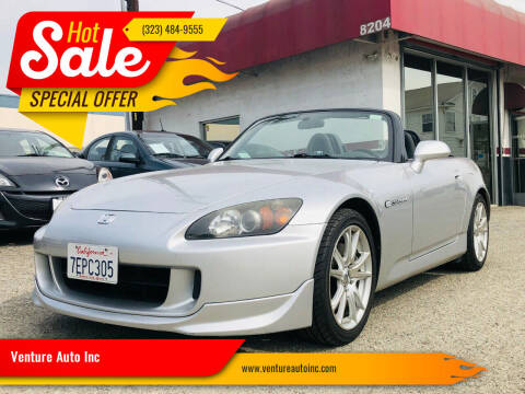 2005 Honda S2000 for sale at Venture Auto Inc in South Gate CA