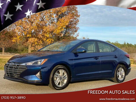 2020 Hyundai Elantra for sale at Freedom Auto Sales in Chantilly VA