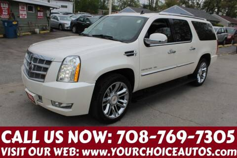 2011 Cadillac Escalade ESV for sale at Your Choice Autos in Posen IL