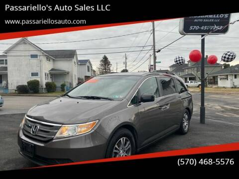 2011 Honda Odyssey for sale at Passariello's Auto Sales LLC in Old Forge PA