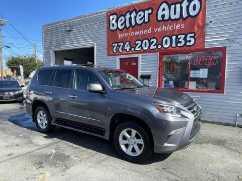 2015 Lexus GX 460 for sale at Better Auto in Dartmouth MA