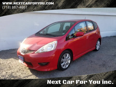 2009 Honda Fit for sale at Next Car For You inc. in Brooklyn NY