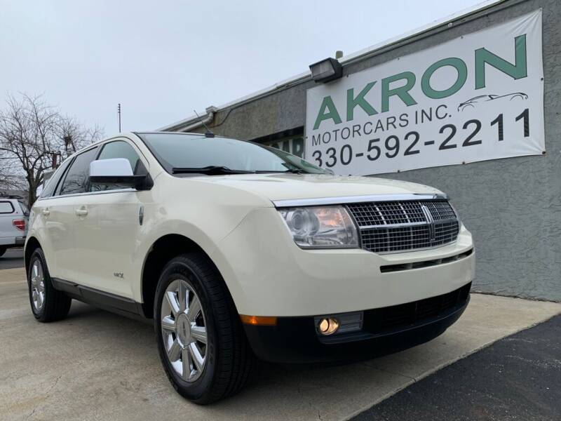 2008 Lincoln MKX for sale at Akron Motorcars Inc. in Akron OH