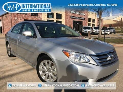 2011 Toyota Avalon for sale at International Motor Productions in Carrollton TX