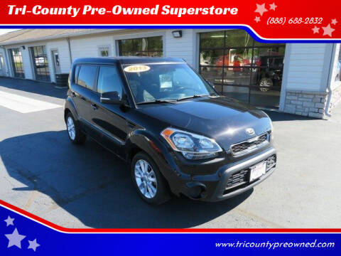 2013 Kia Soul for sale at Tri-County Pre-Owned Superstore in Reynoldsburg OH