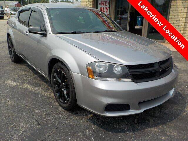 2014 Dodge Avenger for sale at Austins At The Lake in Lakeview OH