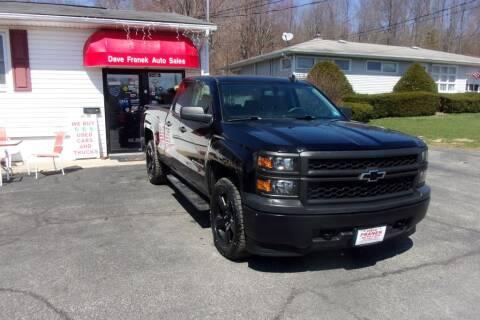 2015 Chevrolet Silverado 1500 for sale at Dave Franek Automotive in Wantage NJ