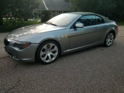 2007 BMW 6 Series for sale at J & J Auto Brokers in Slidell LA