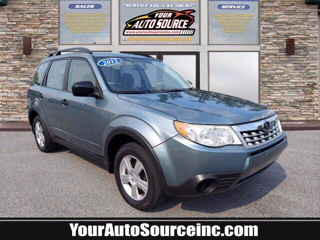 2012 Subaru Forester for sale at Your Auto Source in York PA