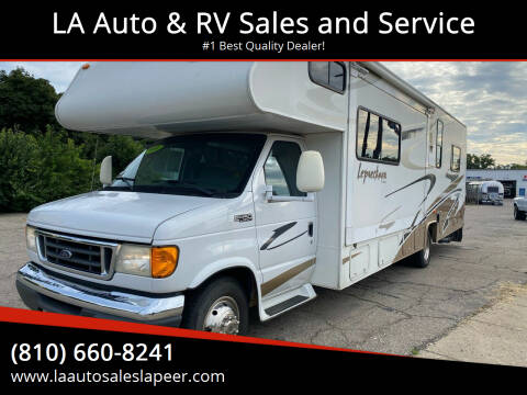2006 Coachmen Leprechaun for sale at LA Auto & RV Sales and Service in Lapeer MI