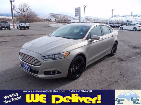 2016 Ford Fusion for sale at QUALITY MOTORS in Salmon ID