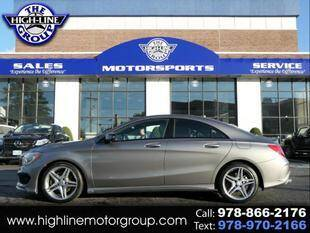 2014 Mercedes-Benz CLA for sale at Highline Group Motorsports in Lowell MA