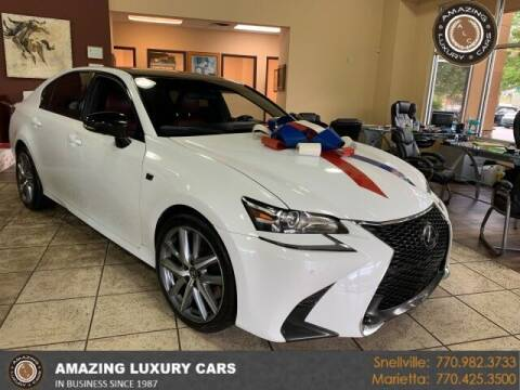 2017 Lexus GS 350 for sale at Amazing Luxury Cars in Snellville GA
