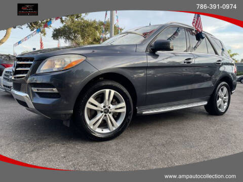 2015 Mercedes-Benz M-Class for sale at Amp Auto Collection in Fort Lauderdale FL