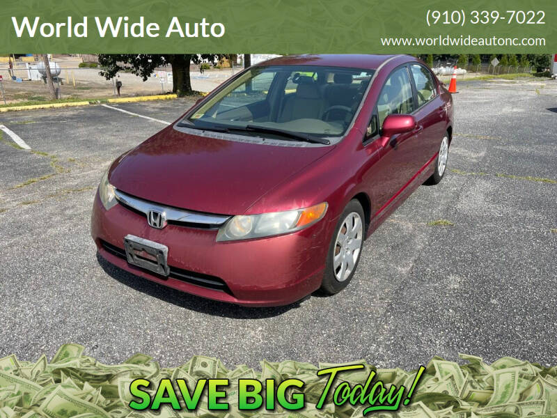2006 Honda Civic for sale at World Wide Auto in Fayetteville NC