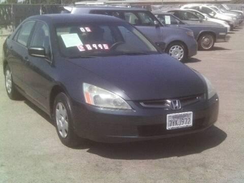 2005 Honda Accord for sale at Valley Auto Sales & Advanced Equipment in Stockton CA