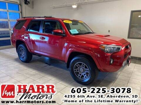 2019 Toyota 4Runner for sale at Harr's Redfield Ford in Redfield SD