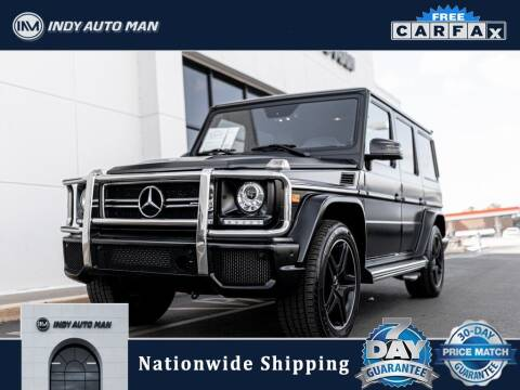 2017 Mercedes-Benz G-Class for sale at INDY AUTO MAN in Indianapolis IN