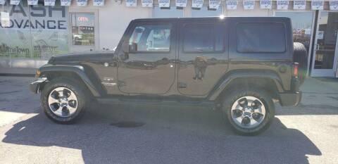 2018 Jeep Wrangler JK Unlimited for sale at HomeTown Motors in Gillette WY