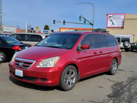 2006 Honda Odyssey for sale at Aberdeen Auto Sales in Aberdeen WA