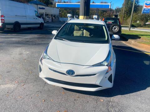 2017 Toyota Prius for sale at BRAVA AUTO BROKERS LLC in Clarkston GA