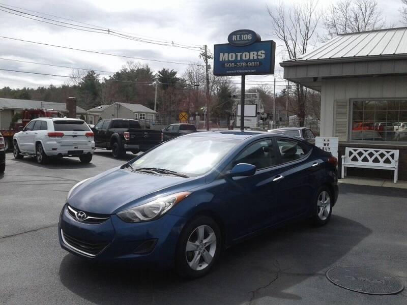 2013 Hyundai Elantra for sale at Route 106 Motors in East Bridgewater MA