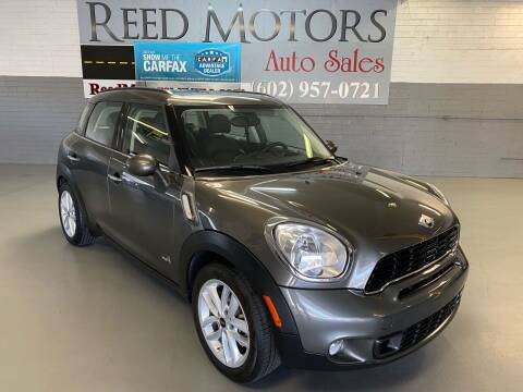 2012 MINI Cooper Countryman for sale at REED MOTORS LLC in Phoenix AZ