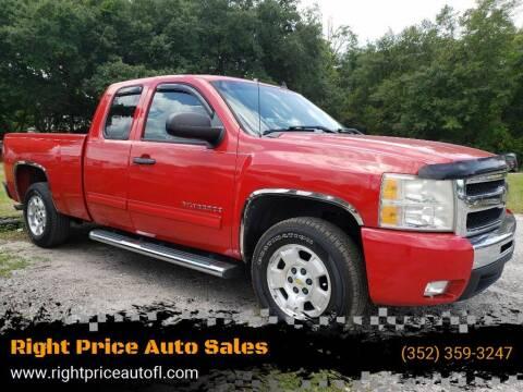 2010 Chevrolet Silverado 1500 for sale at Right Price Auto Sales in Waldo FL