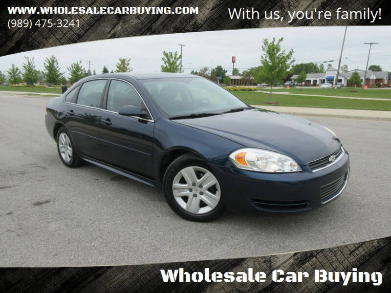 2010 Chevrolet Impala for sale at Wholesale Car Buying in Saginaw MI