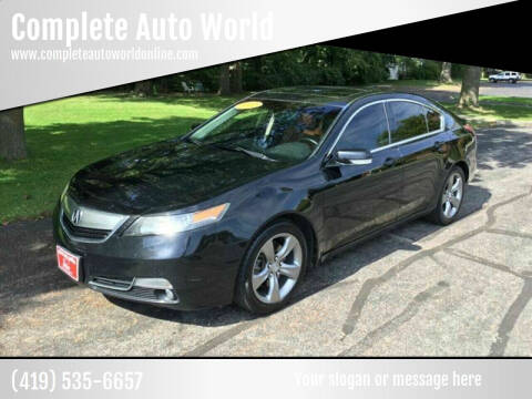 2012 Acura TL for sale at Complete Auto World in Toledo OH