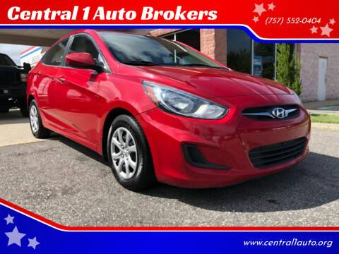 2014 Hyundai Accent for sale at Central 1 Auto Brokers in Virginia Beach VA