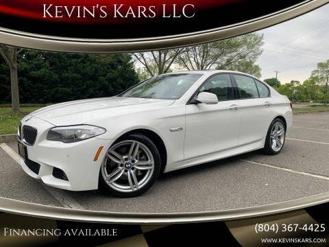 2013 BMW 5 Series for sale at Kevin's Kars LLC in Richmond VA