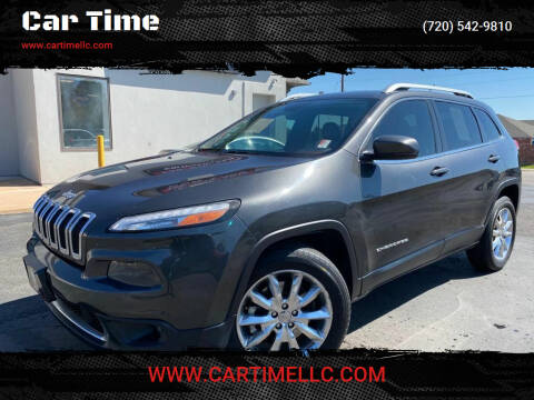 2014 Jeep Cherokee for sale at Car Time in Denver CO