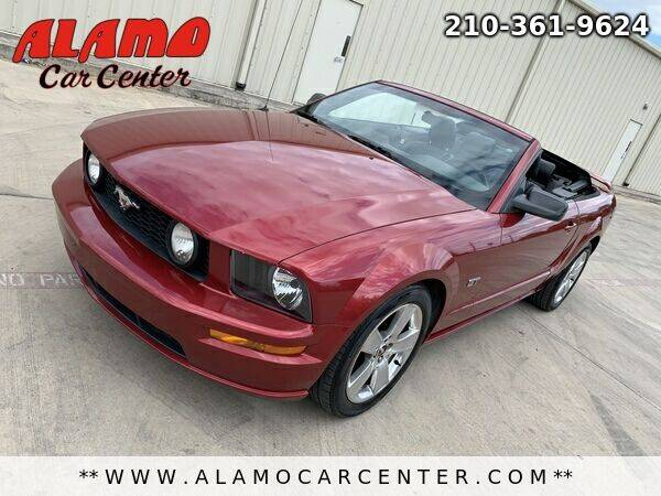 2007 Ford Mustang for sale at Alamo Car Center in San Antonio TX