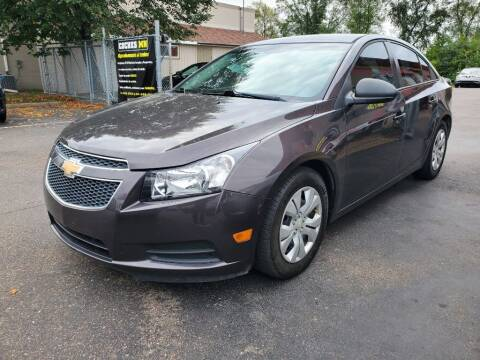 2014 Chevrolet Cruze for sale at MIDWEST CAR SEARCH in Fridley MN
