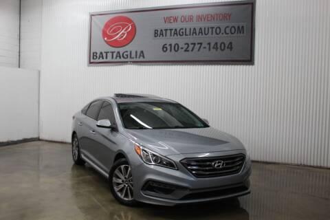 2015 Hyundai Sonata for sale at Battaglia Auto Sales in Plymouth Meeting PA